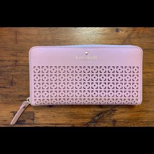 """Kate Spade Perforated CameronStreet """"Lacey"""" Wallet"""